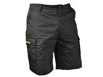 Black Cargo Work Shorts Waist 36in